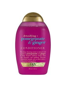 Ogx Detoxifying + Pomegranate & Ginger Conditioner   13 Fl Oz by 13 Fl Oz