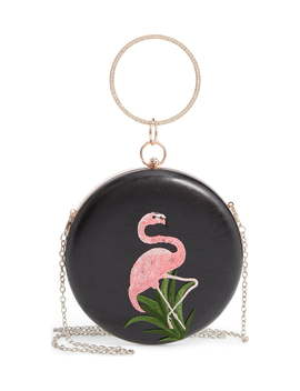 Flamingo Ring Top Handle Bag by Knotty