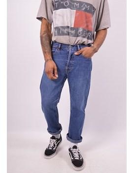 Vintage Diesel Straight Jeans Blue by Diesel