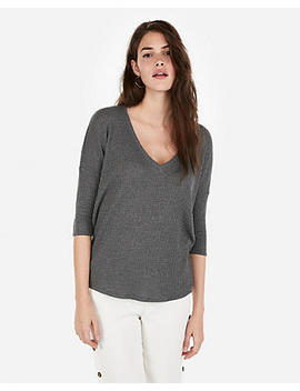 Express One Eleven Waffle London Tee by Express
