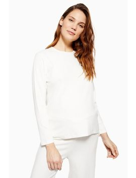 **Maternity Brushed Ribbed T Shirt by Topshop