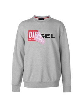 Peel Logo Sweater by Diesel Jeans