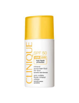 Clinique Mineral Sunscreen Fluid For Face Spf50, 30ml by Clinique