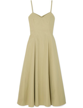 Aveline Cotton Poplin Midi Dress by Three Graces London