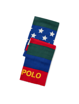 Downhill Skier Scarf by Ralph Lauren