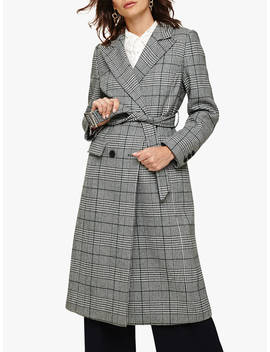 Phase Eight Carmel Check Trench Coat, Multi by Phase Eight