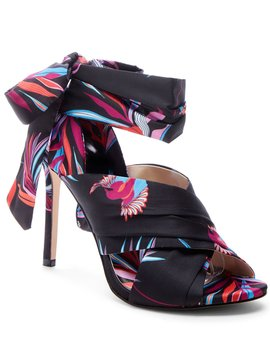 Jestella Knotted Scarf Tie Pumps by Jessica Simpson