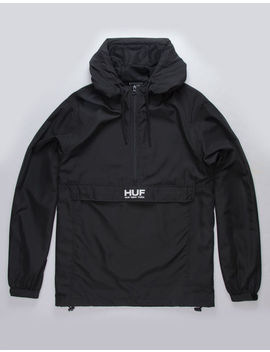 Huf Liberty Black Mens Anorak Jacket by Huf