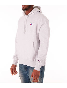 Men's Champion Reverse Weave Flock Hoodie by Champion