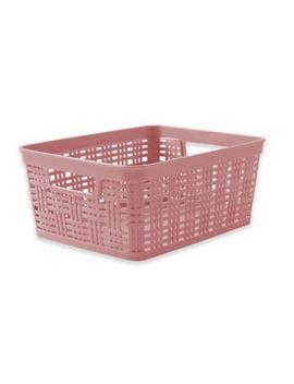 Starplast Plastic Wicker Storage Basket by Bed Bath And Beyond