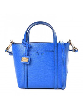 Dolce &Amp; Gabbana Dauphine Mini Crossbody Bag Blue by Dolce Gabbana