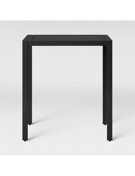 Standish Bar Height Patio Table Black   Project 62 by Project 62