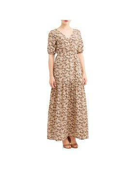 Women's Printed Maxi Dress by Love Sadie