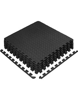 Yes4 All Interlocking Exercise Foam Mats   24 & 120 Sq Ft (Black Or Gray) by Yes4 All