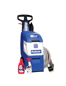 Rug Doctor Mighty Pro X3 Family Pack; Deep Carpet Cleaning Machine With Upholstery Tool And Carpet Cleaning Solutions Included; Neutralizes Odors And Removes Tough Stains, Dirt, Germs And Odors by Rug Doctor