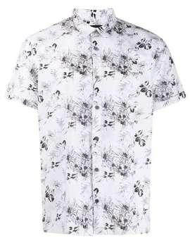 Floral Print Shirt by John Varvatos