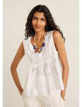 Chemise Maille Coton by Mango