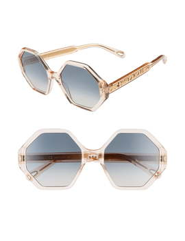 Willow 55mm Octagonal Sunglasses by ChloÉ