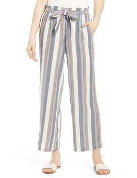 Stripe Paperbag Pants by Bp.