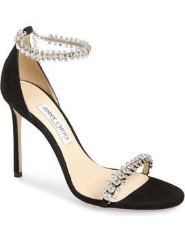 Shiloh Jewel Embellished Sandal by Jimmy Choo