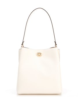 Charlie Turnlock Bucket Bag by Coach