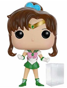 Funko Pop! Anime: Sailor Moon   Sailor Jupiter Vinyl Figure (Bundled With Pop Box Protector Case) by Fun Ko