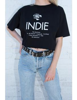 Penelope Indie Top by Brandy Melville