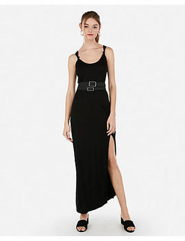 Knotted Strap Maxi Dress by Express