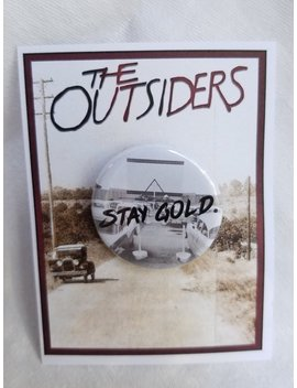 Outsiders Inspired Collectible Pin, Theater Pin, Book Pin, Movie Pin, Stay Gold Drive In,  Greasers by Etsy