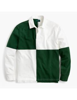 J.Crew Always 1984 Rugby Shirt In Harlequin by J.Crew