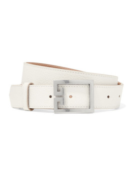 Gv3 Textured Leather Belt by Givenchy