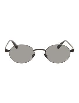 Black Naoko Sunglasses by Mykita