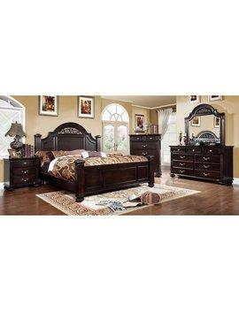Grande Traditional Dark Walnut 4 by Furniture Of America