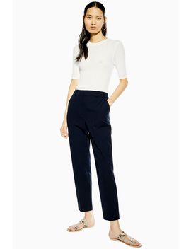 Blue Smart Trousers by Topshop