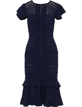 Pointelle Knit Midi Dress by Sachin & Babi