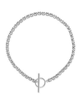 Silver Tone Crystal Choker by Isabel Marant