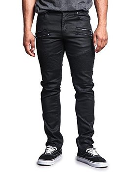 G Style Usa Men's Classic Biker Jeans by G Style Usa