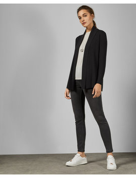 Woven Detail Knitted Cardigan by Ted Baker