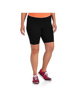 Danskin Now Womens Black Plus Sized Bike Short By by Danskin Now