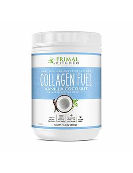 Primal Kitchen Collagen Fuel Protein Mix, Vanilla Coconut   Non Dairy Coffee Creamer & Smoothie Booster  Supports Healthy Hair, Skin, Nails And Joints, Promotes Muscle Repair by Primal Kitchen
