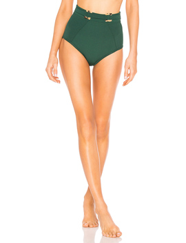 Jungalow Belted High Waisted Bikini Bottoms by Suboo