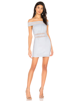 Meghan Mesh Stripe Dress by Superdown
