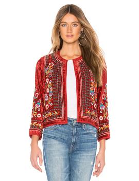 Velvet Embroidered Jacket by Velvet By Graham & Spencer