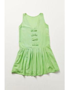 Vintage Lime Drop Waist Dress by Urban Renewal