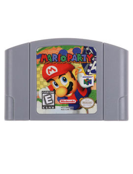 Mario Party 1 & Mario Party 2 & Party 3 Games For Nintendo 64 N64 From New York by Nintendo