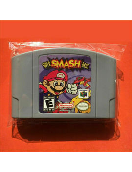 Super Smash Bros. Games Card For Nintendo 64 N64 Us Version Next Day Shipping by Ebay Seller