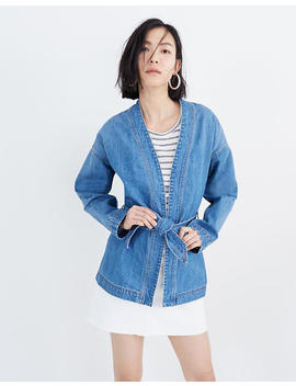 Denim Wrap Jacket by Madewell