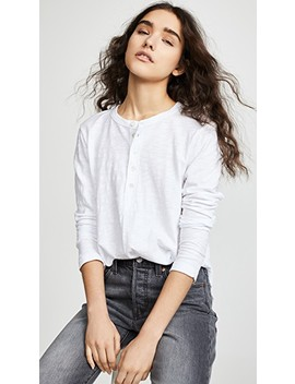 Shifted Henley Long Sleeve Tee by Wilt