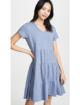 Tiered Trapeze Dress by Wilt
