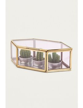 Ombre Spray Diamond Jewellery Box by Urban Outfitters
